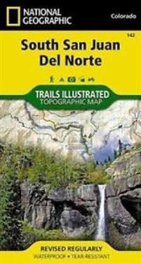 National Geographic Trails Illustrated Topographic Map South San Juan / Del Norte, Colorado