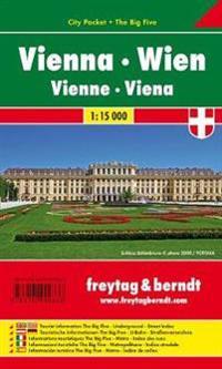 Wien 1 : 15 000 City Pocket + The Big Five
