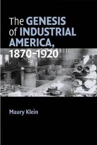 The Genesis of Industrial America, 1870-1920