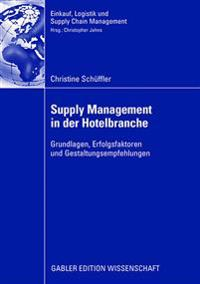 Supply Management in Der Hotelbranche