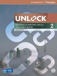 Unlock Level 2 Reading and Writing Skills Teacher's Book with DVD