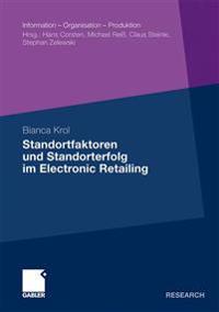 Standortfaktoren Und Standorterfolg Im Electronic Retailing