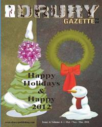 The Drury Gazette: Issue 4, Volume 6 - Oct. / Nov. / December 2011