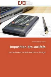Imposition Des Soci�t�s