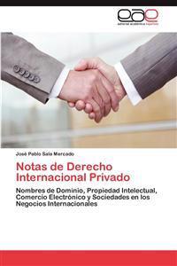 Notas de Derecho Internacional Privado