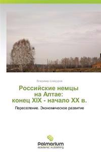 Rossiyskie Nemtsy Na Altae