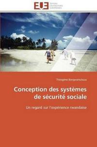 Conception Des Syst�mes de S�curit� Sociale