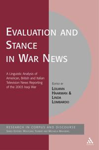 Evaluation and Stance in War News