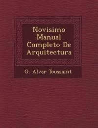 Novisimo Manual Completo De Arquitectura