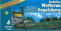 Wetterau-Vogelsberg Radatas Rosen-Radweg, Vulkanradweg, Kinzigtal-Radweg