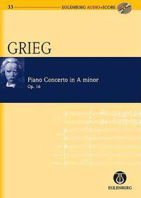 Grieg Piano Concerto in a Minor Op. 16 [With CD (Audio)]