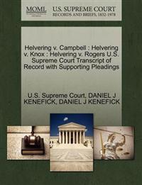Helvering V. Campbell