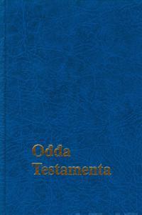 Odda testamenta (Uusi testamentti saamenkielinen, 110x180 mm, nahkajäljitelmä)