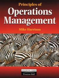 Principles of Operations Management