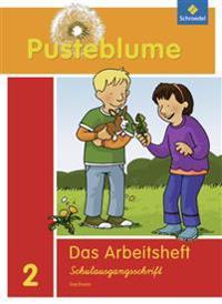 Pusteblume. Das Sprachbuch 2. Arbeitsheft. Schulausgangsschrift. Sachsen