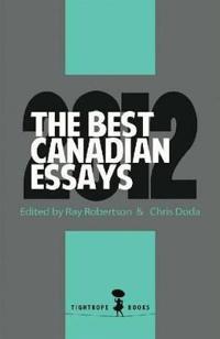 Best Canadian Essays 2012