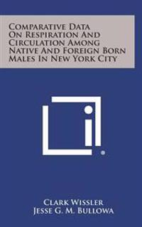 Comparative Data on Respiration and Circulation Among Native and Foreign Born Males in New York City