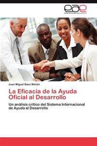 La Eficacia de La Ayuda Oficial Al Desarrollo