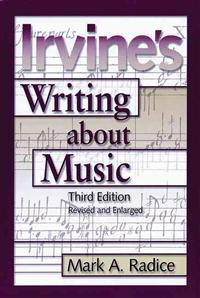 Irvine's Writing About Music