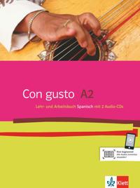 Con gusto. Lehr- und Arbeitsbuch mit 2 Audio-CDs - A2