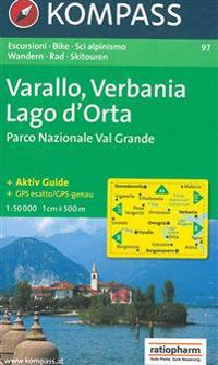 97: Omegna - Varallo-Lago D'Orta 1:50, 000