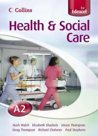 Collins A Level Health and Social Care