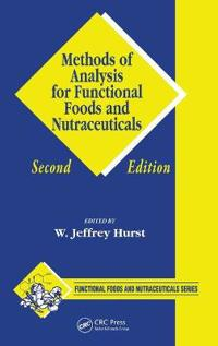 Methods of Analysis for Functional Foods And Nutraceuticals