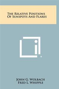 The Relative Positions of Sunspots and Flares