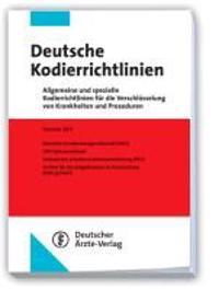 Deutsche Kodierrichtlinien 2011
