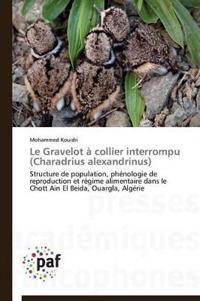 Le Gravelot � Collier Interrompu (Charadrius Alexandrinus)