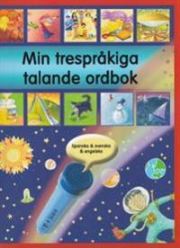 Min trespråkiga talande ordbok : spanska, svenska och engelska