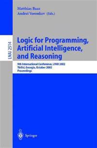 Logic for Programming, Artificial Intelligence and Reasoning