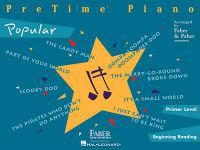 Pretime Piano; Popular, Primer Level, Beginning Reading