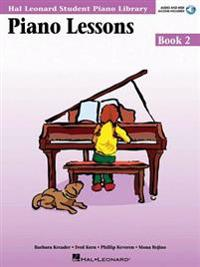 Piano Lessons Book 2 - Audio and MIDI Access Included: Hal Leonard Student Piano Library