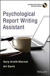 Psychological Report Writing Assistant [With CDROM]
