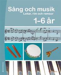Sång och musik 1 - 6 år Pärm med cd