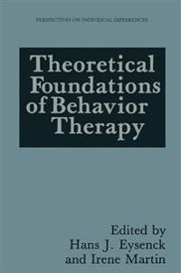 Theoretical Foundations of Behavior Therapy