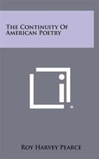 The Continuity of American Poetry