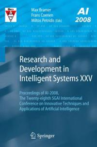 Research and Development in Intelligent Systems Xxv