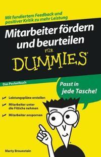 Mitarbeiter foerdern und beurteilen fur Dummies Das Pocketbuch