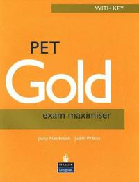 Pet gold exam maximiser with key new edition