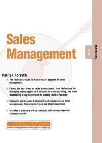 Sales Management: Marketing 04.10