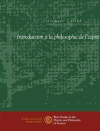 Introduction La Philosophie de L'Esprit