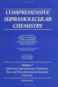 Comprehensive Supramolecular Chemistry, Volume 7