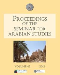 Proceedings of the Seminar for Arabian Studies