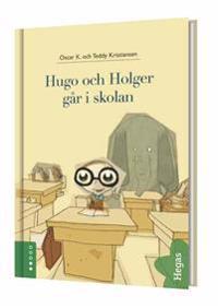 Hugo och Holger går i skolan (Bok+CD)