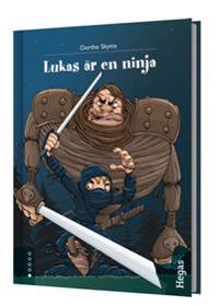 Lukas är en ninja (bok+CD)