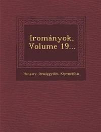Irományok, Volume 19...