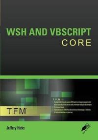 Wsh and Vbscript Core