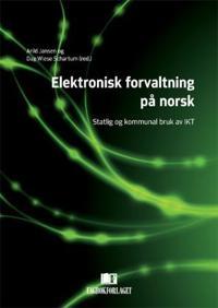 Elektronisk forvaltning på norsk -  pdf epub